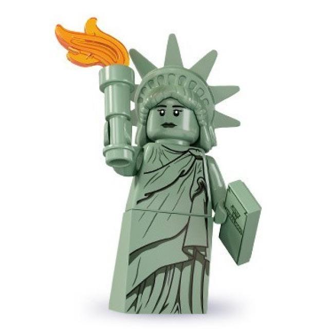 Obrázek produktu LEGO 8827 Minifigurka Socha svobody