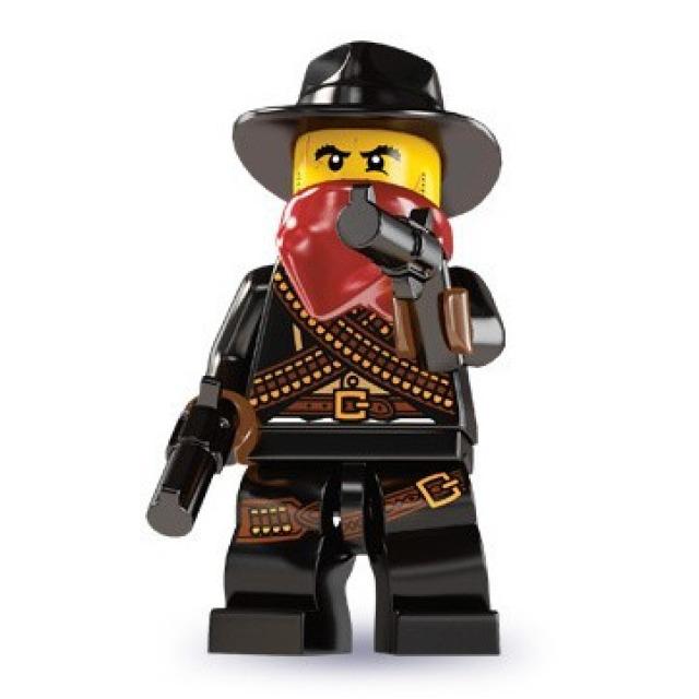 Obrázek produktu LEGO 8827 Minifigurka Bandita