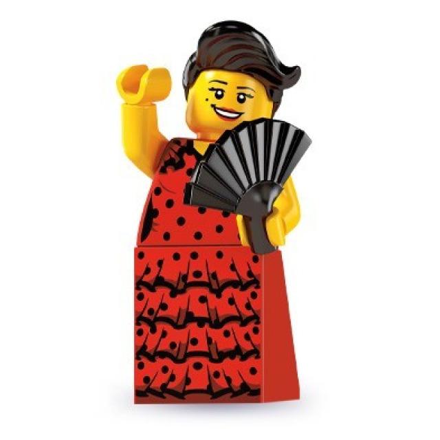 Obrázek produktu LEGO 8827 Minifigurka Flamengo tanečnice