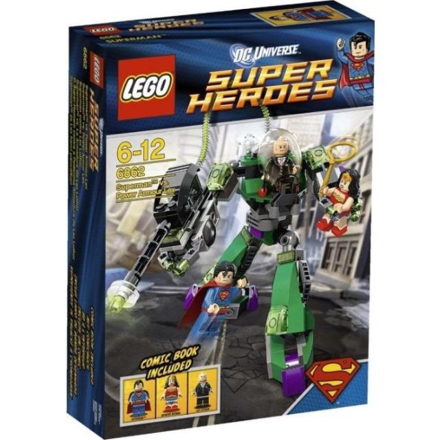 Obrázek produktu LEGO Super Heroes 6862 Superman versus Lex Luthor