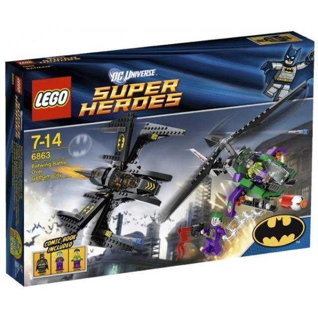 Obrázek produktu LEGO Super Heroes 6863 Batmanova bitva nad Gotham City