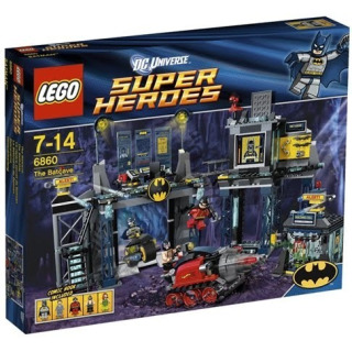 Obrázek 1 produktu LEGO Super Heroes 6860 Batmanova jeskyně