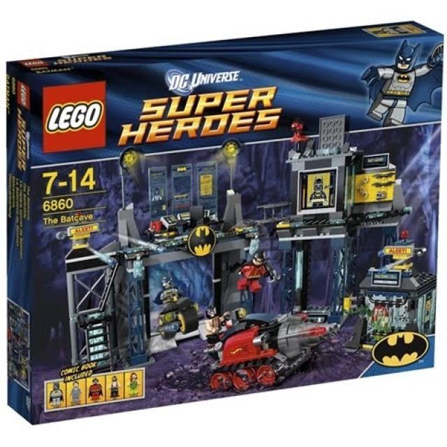 Obrázek produktu LEGO Super Heroes 6860 Batmanova jeskyně