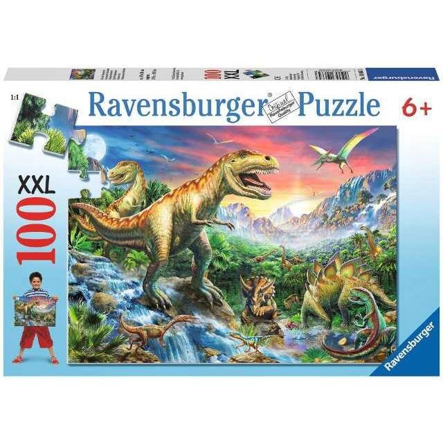 Obrázek produktu Ravensburger 10665 Puzzle Dinosauři 100 XXL d.