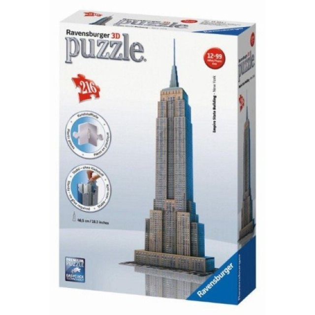 Obrázek produktu Ravensburger 3D puzzle Empire State Building New York 216 ks