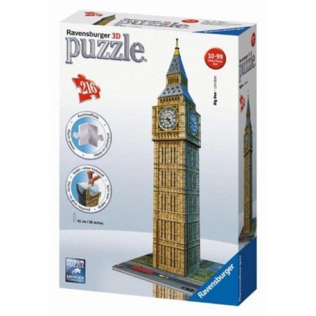Obrázek produktu Ravensburger 12554 Puzzle 3D Big Ben 216 dílků