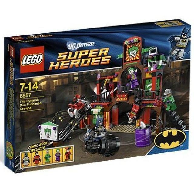 Obrázek produktu LEGO Super Heroes 6857 Batman: Útěk z bláznivého domu