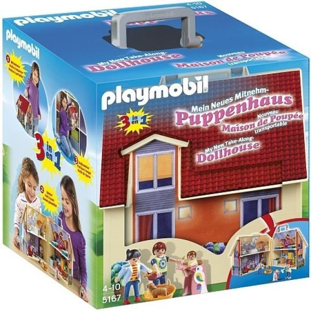 Obrázek produktu Playmobil 5167 Přenosný dům pro panenky