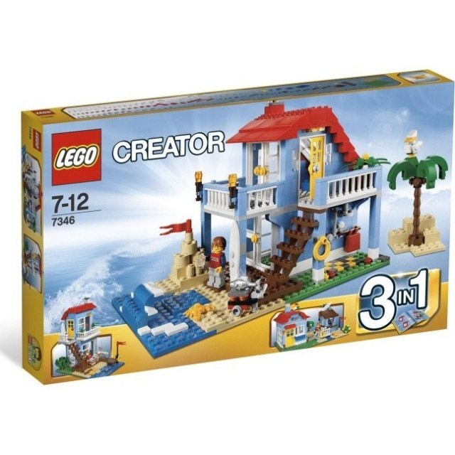 Obrázek produktu LEGO Creator 7346 Plážový domek 3 v 1