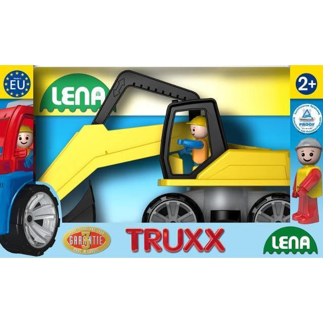 Obrázek produktu LENA Truxx Bagr + figurka v krabici