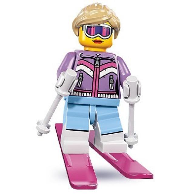 Obrázek produktu LEGO 8833 Minifigurka Lyžařka
