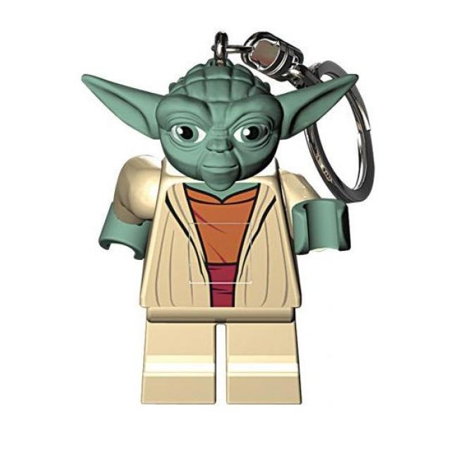 Obrázek produktu Lego LED klíčenka Star Wars Yoda, figurka 7 cm