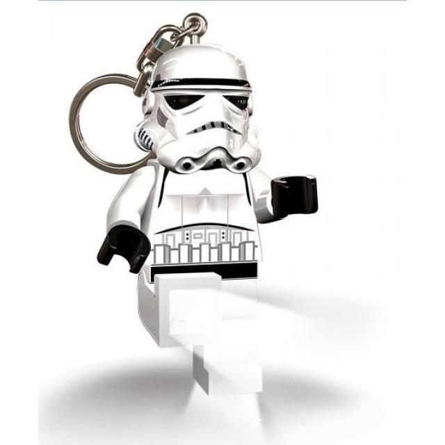 Obrázek produktu Lego LED klíčenka Star Wars Stormtrooper, figurka 7 cm