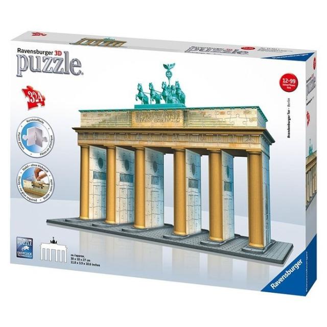 Obrázek produktu Ravensburger 12551 Puzzle 3D Brandenburská brána 324 dílků