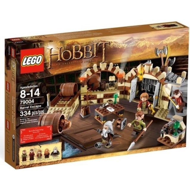 Obrázek produktu LEGO Hobbit 79004 Únik v sudech, Rarita!