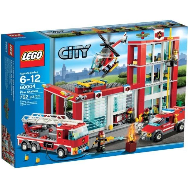 Obrázek produktu LEGO CITY 60004 Hasičská stanice