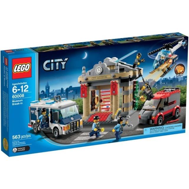 Obrázek produktu LEGO CITY 60008 Krádež v muzeu