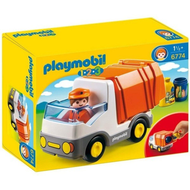 Obrázek produktu Playmobil 6774 Popelářský vůz (1.2.3)