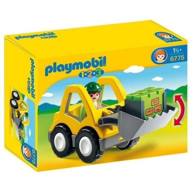 Obrázek produktu Playmobil 6775 Čelní nakladač (1.2.3)