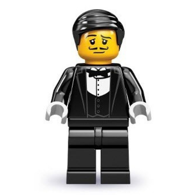 Obrázek produktu LEGO 71000 Minifigurka Číšník