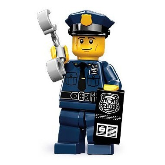 Obrázek produktu LEGO 71000 Minifigurka Policista