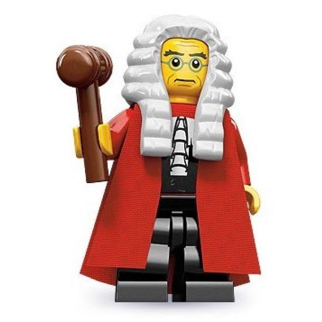 Obrázek produktu LEGO 71000 Minifigurka Soudce