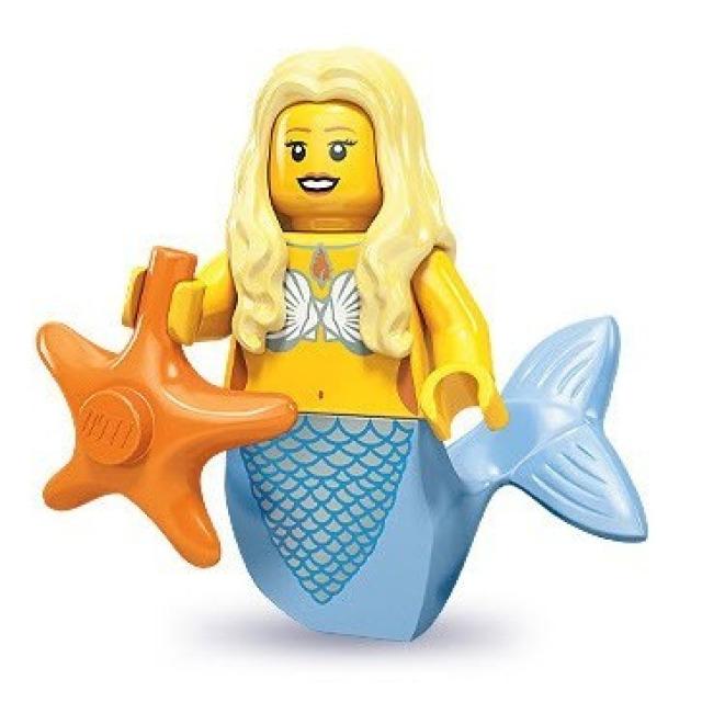 Obrázek produktu LEGO 71000 Minifigurka Mořská panna