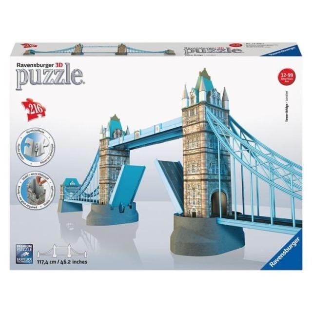 Obrázek produktu 3D Puzzle Tower Bridge 216d. Ravensburger