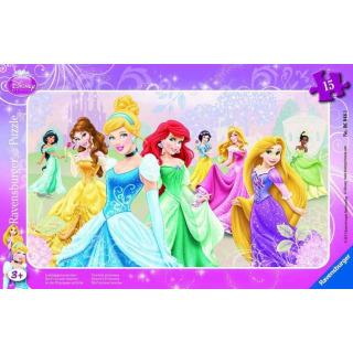 Obrázek 1 produktu Puzzle Princezny 15d. Ravensburger