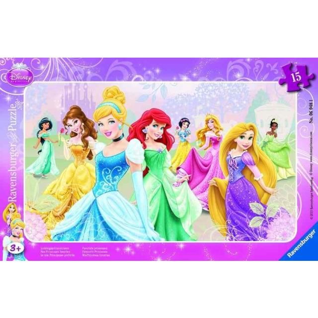 Obrázek produktu Puzzle Princezny 15d. Ravensburger