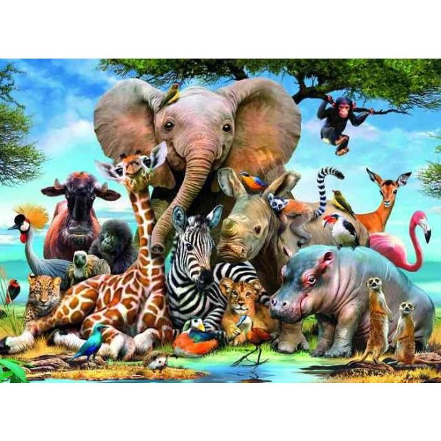 Obrázek produktu Ravensburger 13075 Puzzle Afričtí přátelé 300 dílků