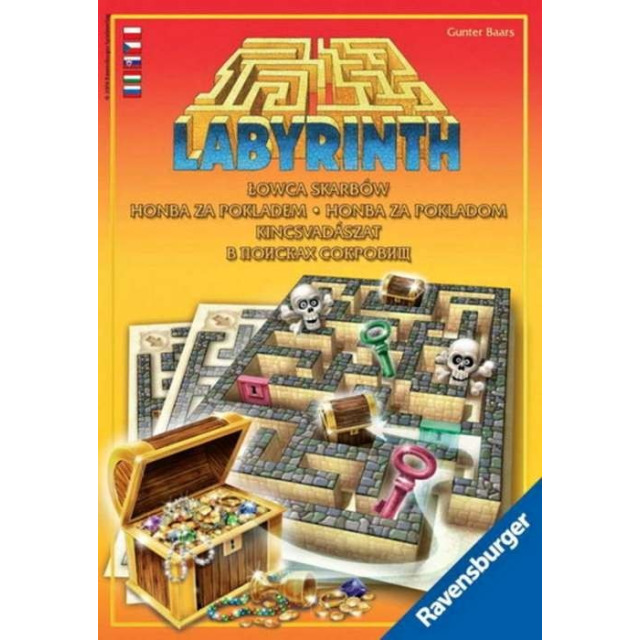 Obrázek produktu Hra Labyrint Honba za pokladem, Ravensburger