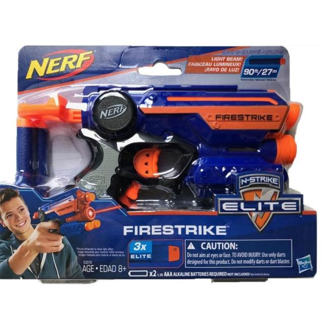 Obrázek produktu NERF Elite FIRESTRIKE pistole s laserovým zaměřováním