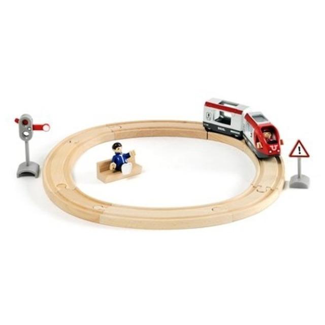 Obrázek produktu BRIO 33511 Vláčkodráha kruhová, osobní vlak