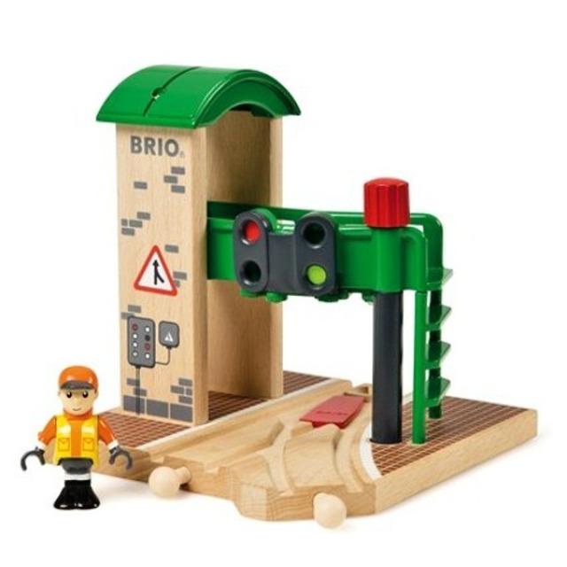 Obrázek produktu BRIO 33674 Signální stanice s výhybkou
