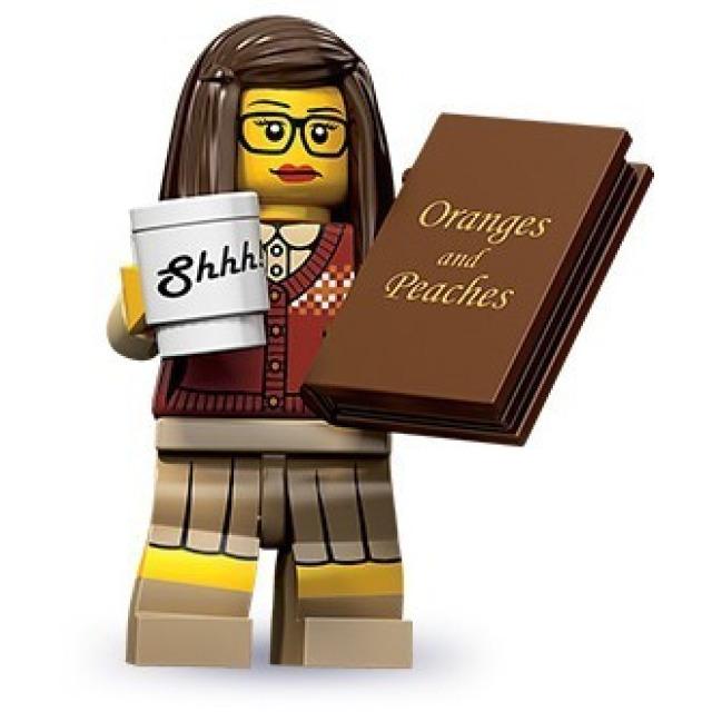 Obrázek produktu LEGO 71001 Minifigurka Knihomolka