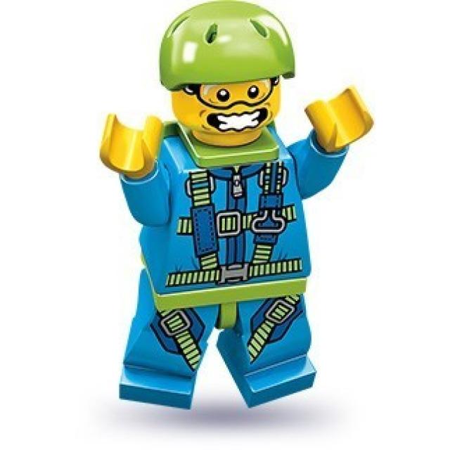 Obrázek produktu LEGO 71001 Minifigurka Parašutista