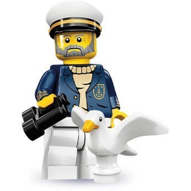 Obrázek produktu LEGO 71001 Minifigurka Kapitán lodi