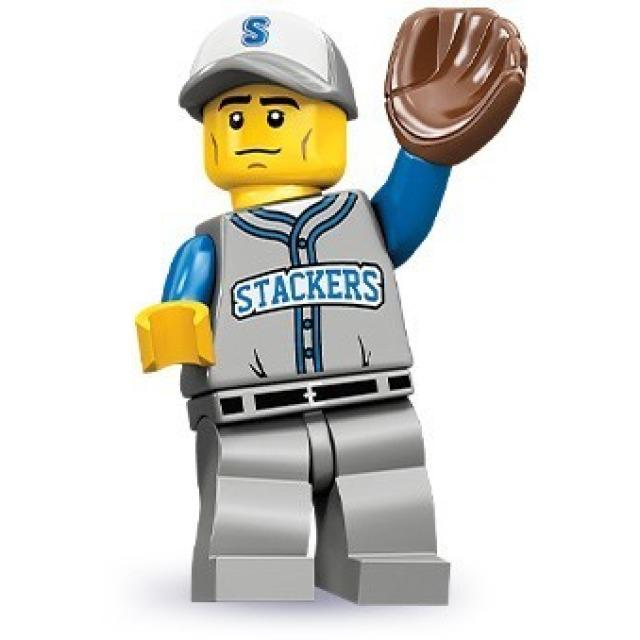 Obrázek produktu LEGO 71001 Minifigurka Hráč Baseballu