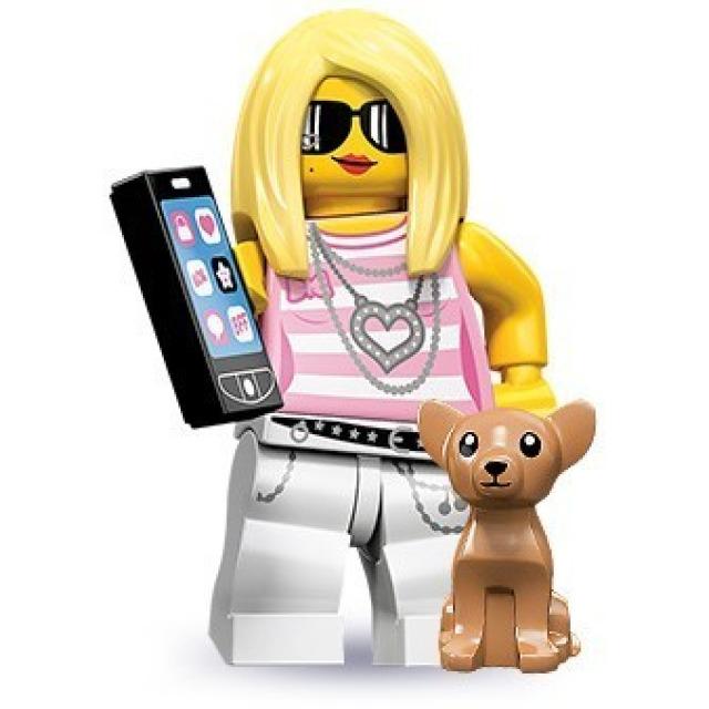 Obrázek produktu LEGO 71001 Minifigurka Blondýna