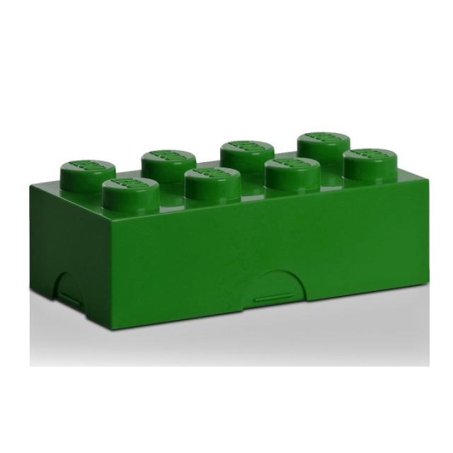 Obrázek produktu LEGO Svačinový box tmavě zelený