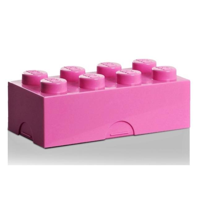 Obrázek produktu LEGO Svačinový box růžový