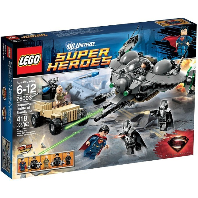 Obrázek produktu LEGO Super Heroes 76003 SuperMan: Bitva o Smallville