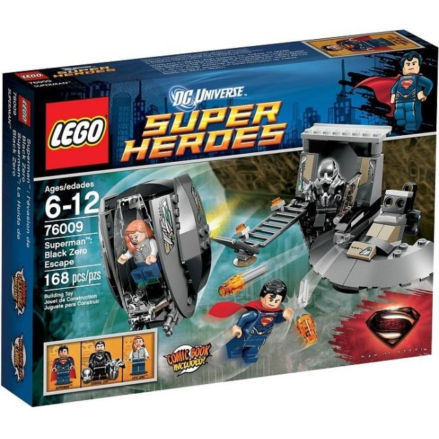 Obrázek produktu LEGO Super Heroes 76009 SuperMan: Únik z Black Zero