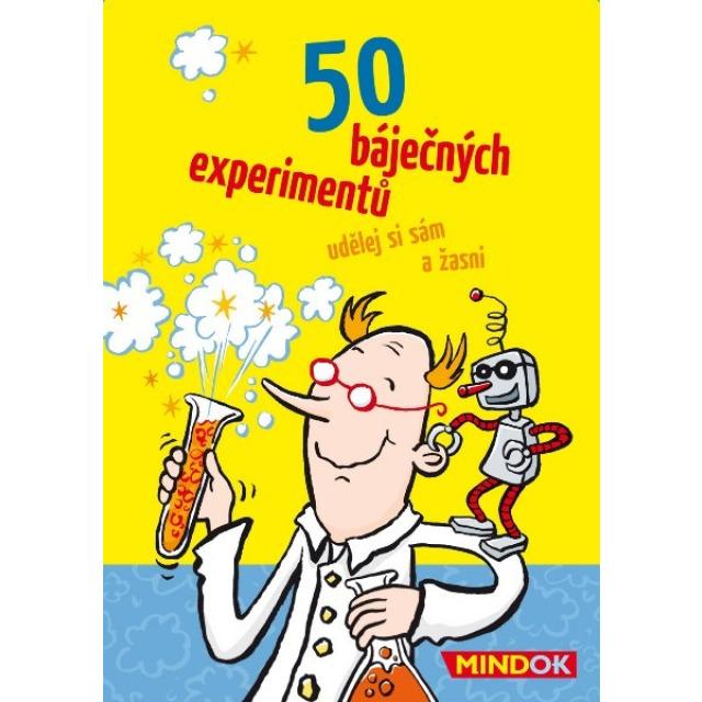 Obrázek produktu 50 báječných experimentů, rychlá karetní hra