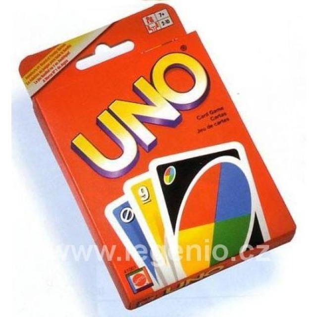 Obrázek produktu Karty UNO, Mattel W2087