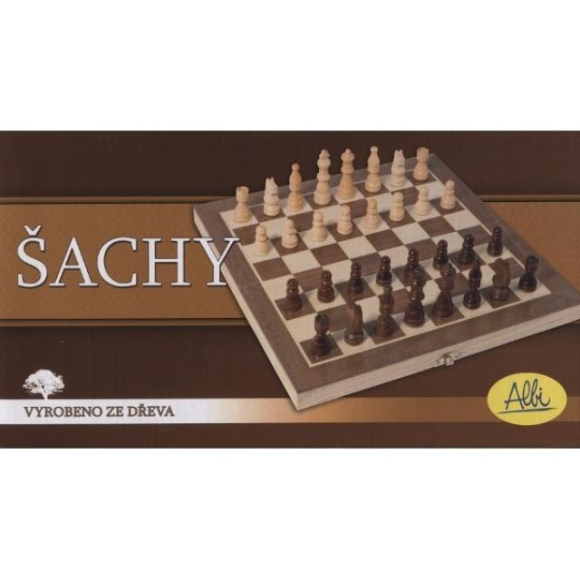 Obrázek produktu Šachy dřevěné Royal 29,5x29,5 cm