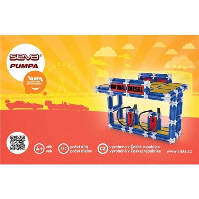 Obrázek produktu SEVA Pumpa, 180 dílků