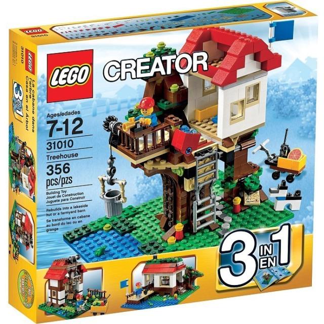 Obrázek produktu LEGO Creator 31010 Domek na stromě 3 v 1