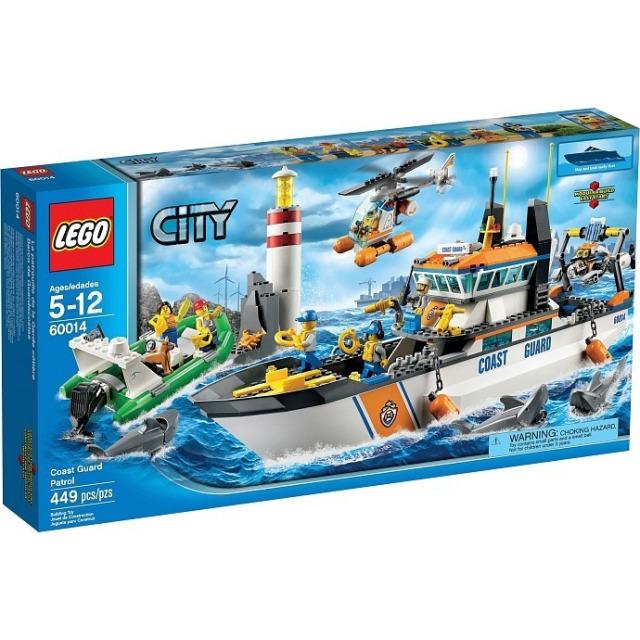 Obrázek produktu LEGO CITY 60014 Pobřežní hlídka